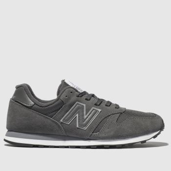 New Balance Dark Grey 373 Trainers