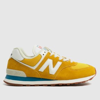 New balance Gold 574 Mens Trainers