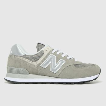 New balance Grey 574 Mens Trainers