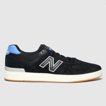 New balance Black and blue All Coasts 574 Mens Trainers