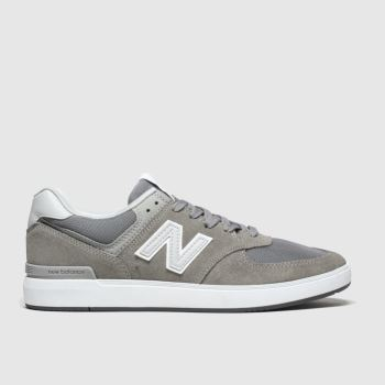 New Balance Light Grey All Coasts 574 c2namevalue::Mens Trainers
