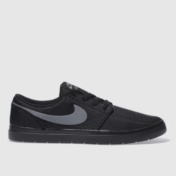 Nike Sb Black Portmore Ii Ultralight Mens Trainers
