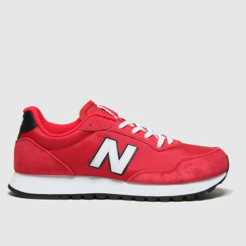 New balance Red 527 Mens Trainers#