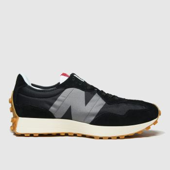 New balance Black 327 Mens Trainers