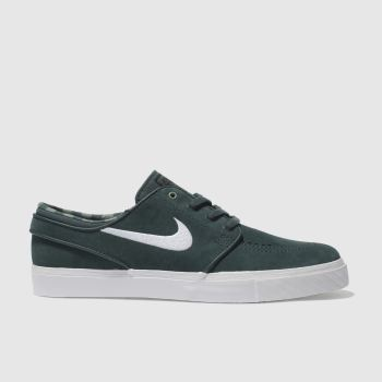 Nike Sb Dark Green Zoom Stefan Janoski Mens Trainers