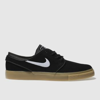 new style eb41b 247da Nike Sb Black   White Zoom Stefan Janoski Mens Trainers