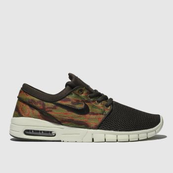 Nike Sb Brown Stefan Janoski Max Mens Trainers