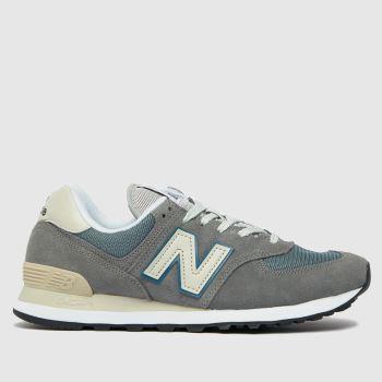 New balance Grey 574 Mens Trainers