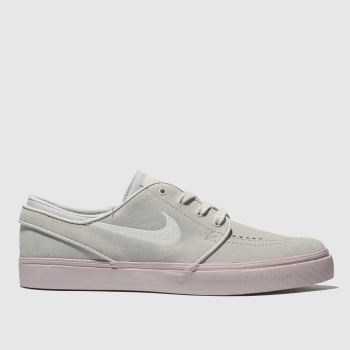 Nike Sb Light Grey Stefan Janoski Mens Trainers