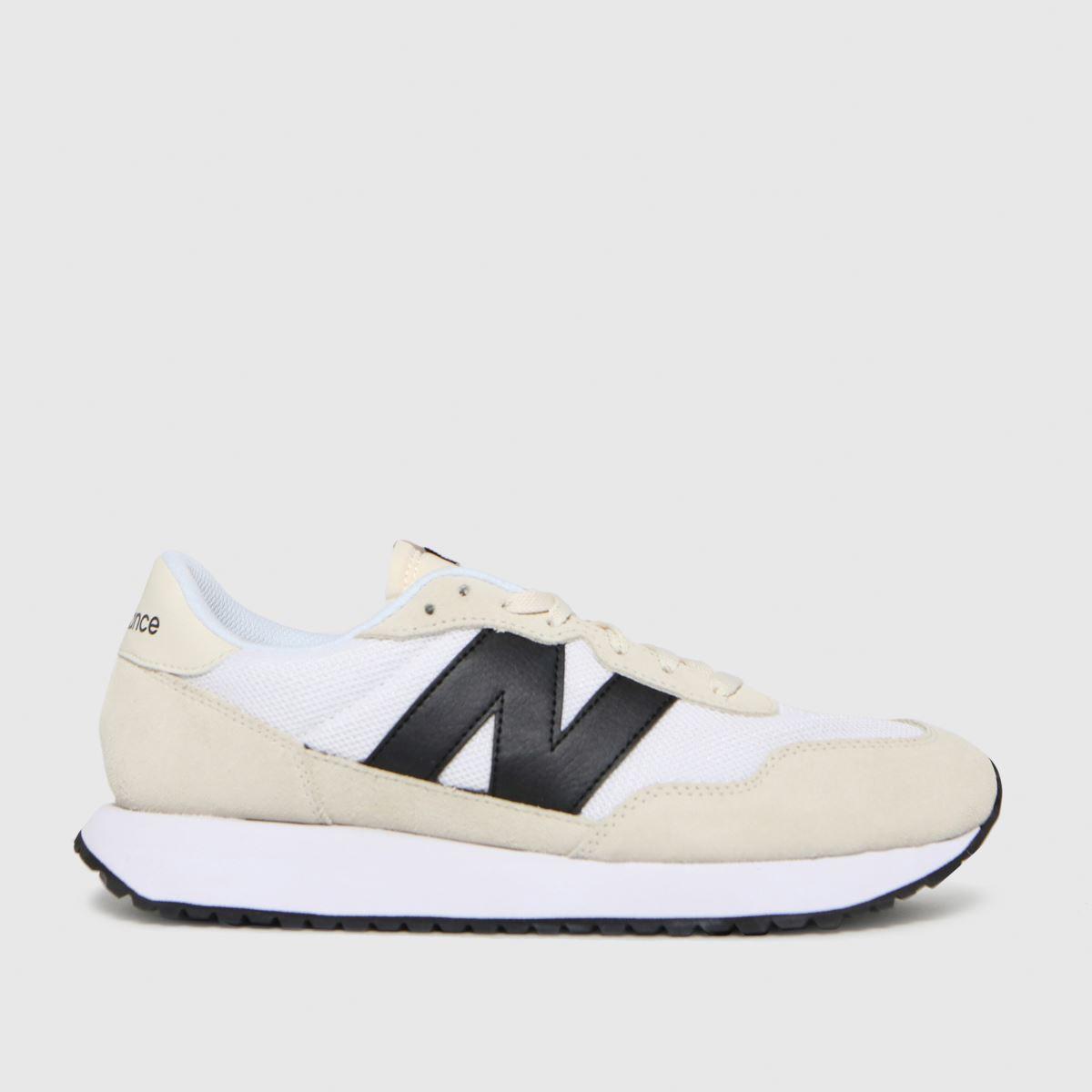 New Balance White 237 Trainers