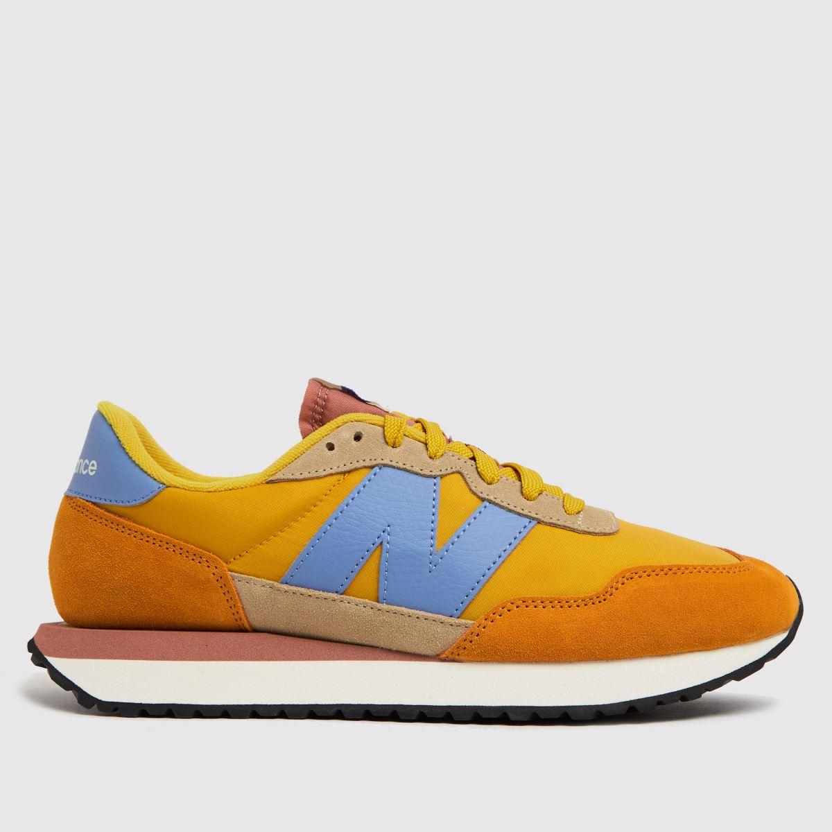New Balance Yellow 237 Trainers