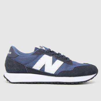 New balance Marineblau 237 Herren Sneaker