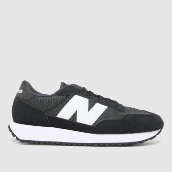 New balance Black 237 Mens Trainers