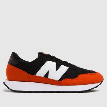 New balance Black & Red 237 Mens Trainers