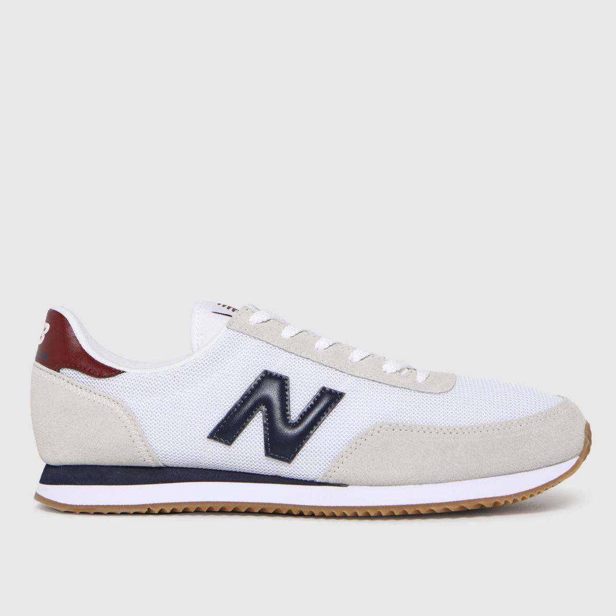 New Balance White 720 Trainers