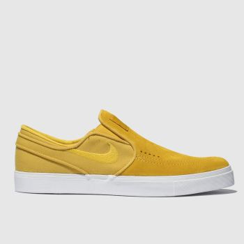 Nike Sb Yellow Zoom Janoski Slip Mens Trainers