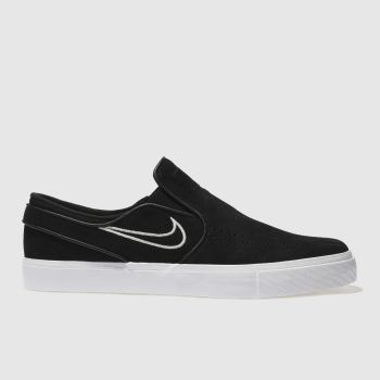 Nike Sb Black Zoom Janoski Slip Mens Trainers