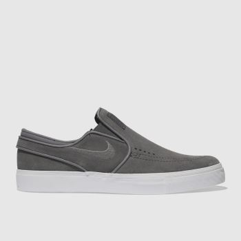 Nike Sb Grey Zoom Janoski Slip Mens Trainers
