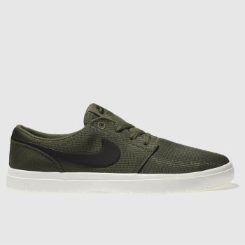 Nike Sb Khaki Portmore Ii Ultralight Mens Trainers