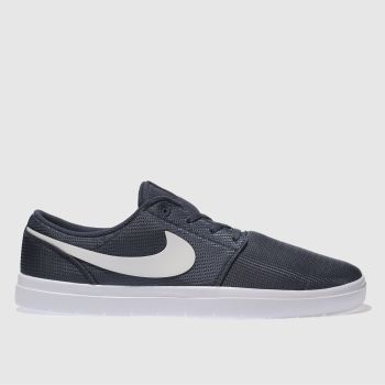 NIKE SB NAVY PORTMORE II ULTRALIGHT TRAINERS