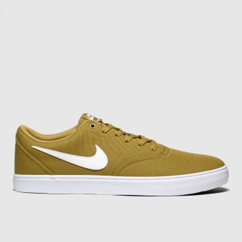 Nike Sb Tan Check Solar Mens Trainers