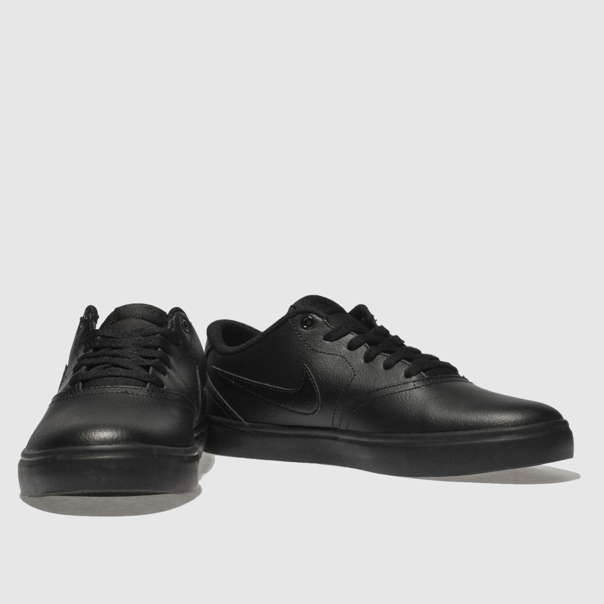 Herren Schwarz Sneaker nike sb Check Solarsoft Sneaker Schwarz | schuh Gute Qualität beliebte Schuhe 1ebbd7