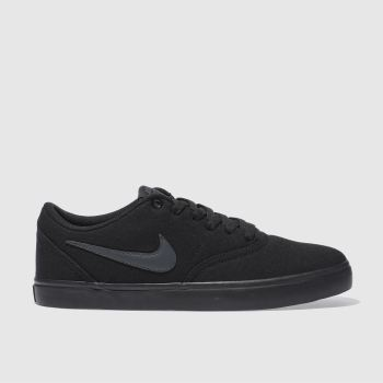 4829b243573d71 Nike Sb Black Check Solarsoft Mens Trainers
