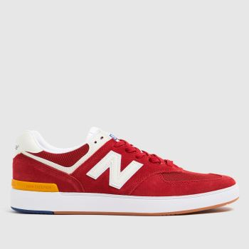 New balance Red All Coasts 574 Mens Trainers
