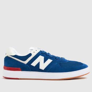New balance Blue All Coasts 574 Mens Trainers