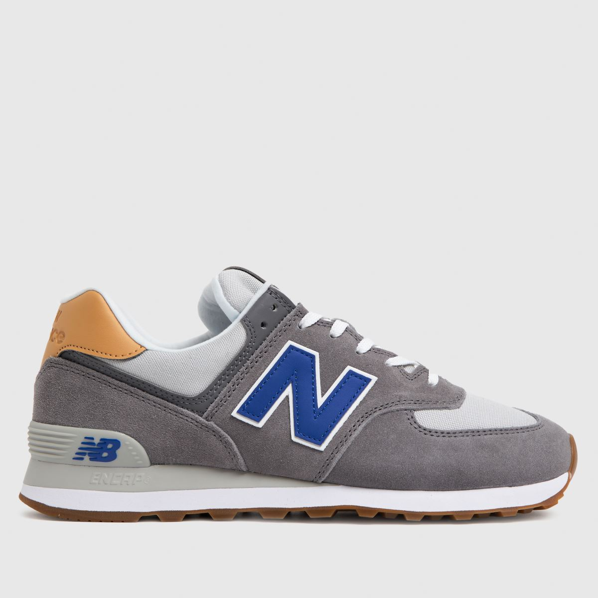 New Balance Grey 574 Trainers