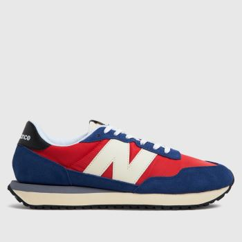 New balance Red 237 Mens Trainers
