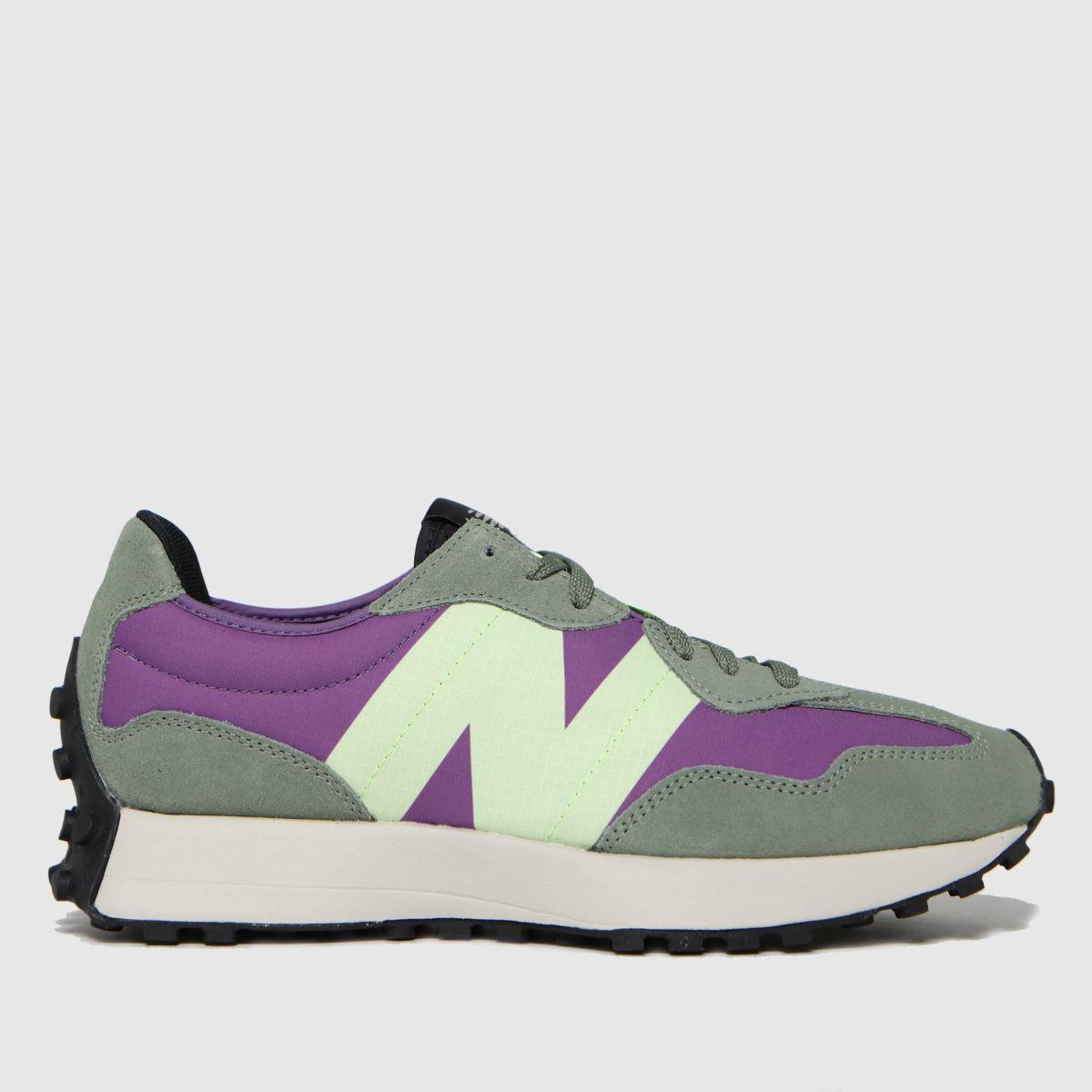 New Balance Green 327 Trainers