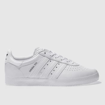 Adidas White 350 Mens Trainers
