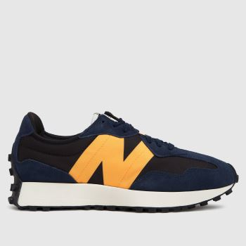 New balance Navy 327 Mens Trainers