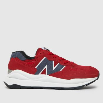 New balance Red 57/40 Mens Trainers