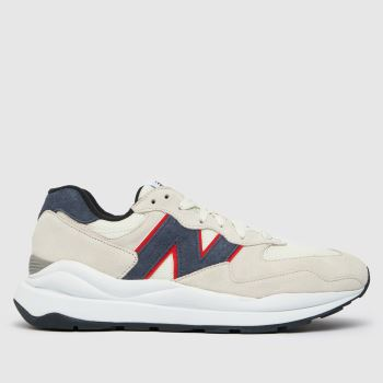 New balance White & Blue 57/40 Mens Trainers