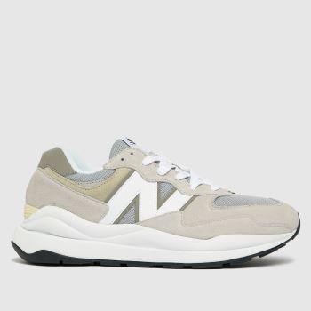 New balance Light Grey 57/40 Mens Trainers