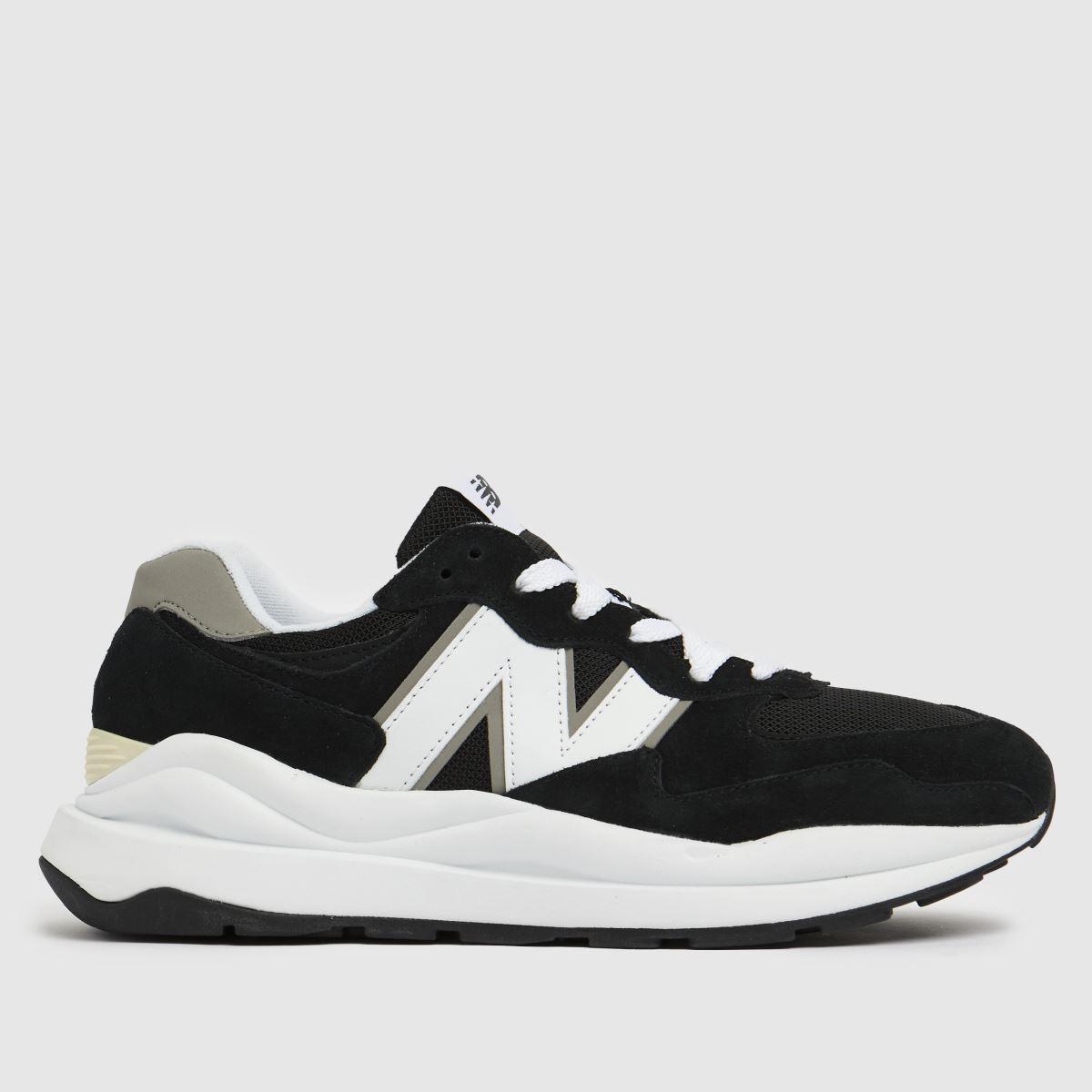 New Balance Black & White 57/40 Trainers