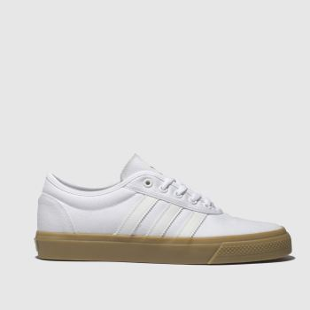 Adidas Skateboarding White Adi-ease Mens Trainers