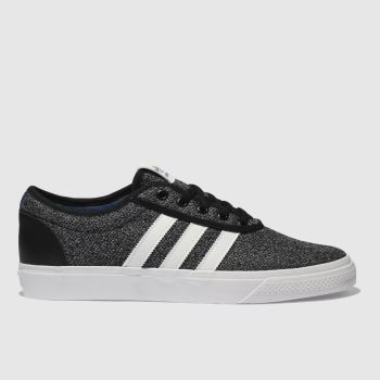 Adidas Skateboarding Black & Grey Adi-Ease Mens Trainers