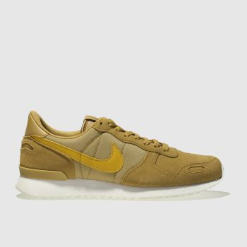 Mens Yellow Nike Air Vortex Trainers