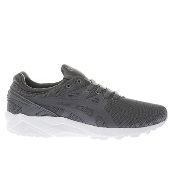Asics Grey Gel-Kayano Evo Mens Trainers