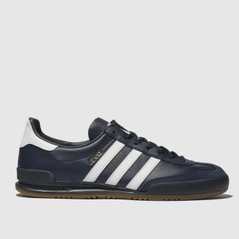 Adidas Navy & White Jeans Mens Trainers
