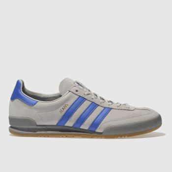 Adidas Light Grey Jeans Mens Trainers#