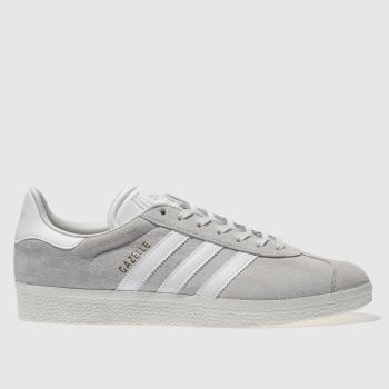 Adidas Light Grey GAZELLE Trainers