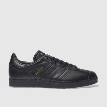 Adidas Black Gazelle Mens Trainers