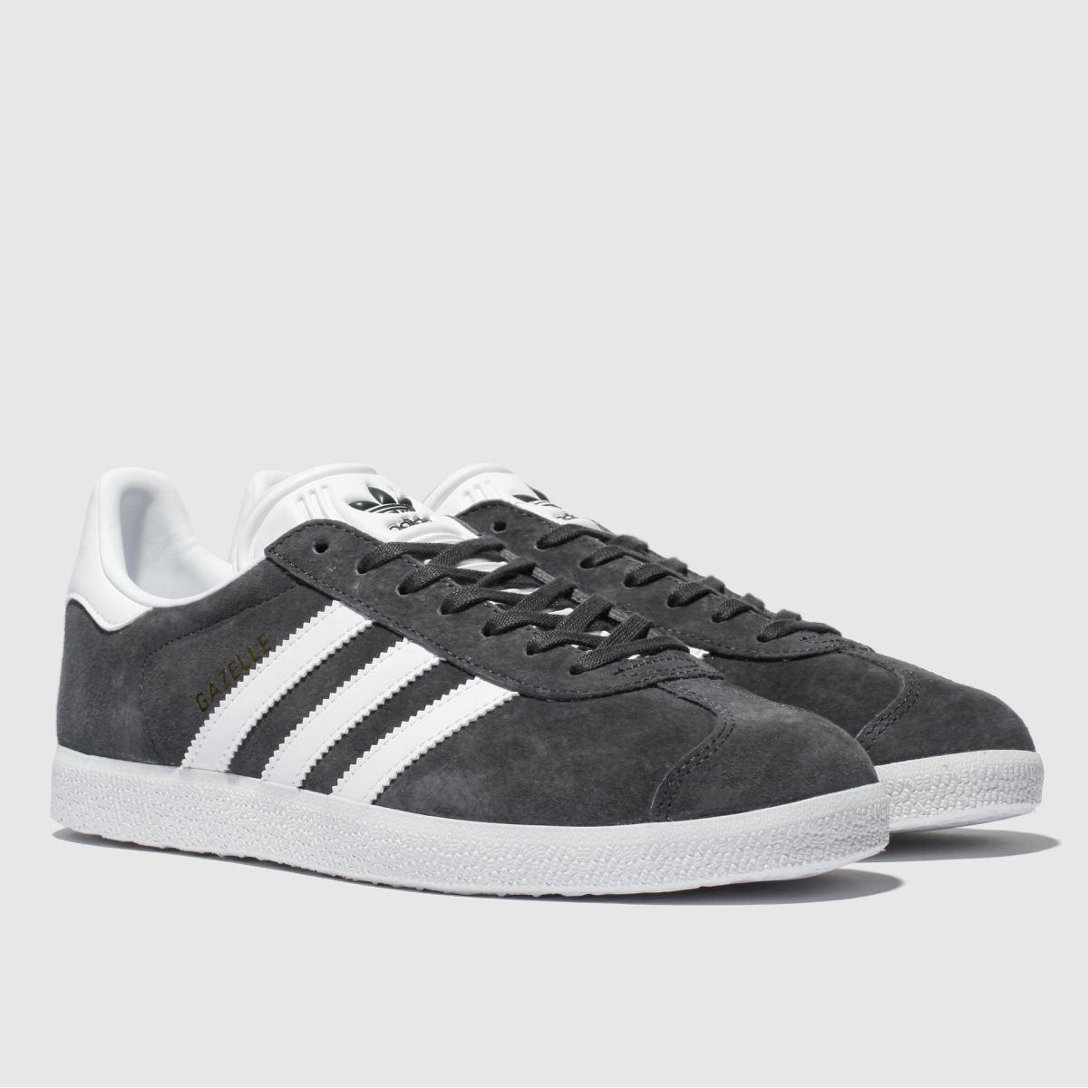 Herren Dunkelgrau adidas Gazelle Sneaker   schuh Gute Qualität beliebte Schuhe