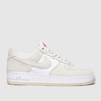 Nike Steingrau Air Force 1 07 Lv8 Herren Sneaker