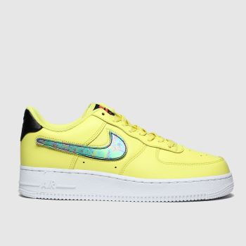 Nike Yellow Air Force 1 07 Lv8 Mens Trainers