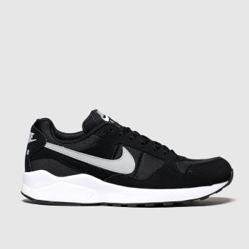 Nike Black & Grey AIR PEGASUS 92 LITE Trainers
